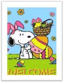Snoopy's Welcome